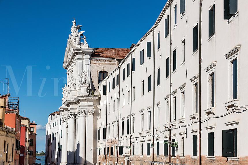 The church exterior of Santa Maria Assunta, known as I Gesuiti,