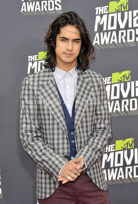 WWW.ACEPIXS.COM....April 14, 2013, Los Angeles, Ca.......Avan Jogia arriving at the 2013 MTV Movie Awards at Sony Pictures Studios on April 14, 2013 in Culver City, California.......By Line: Peter West/ACE Pictures....ACE Pictures, Inc..Tel: 646 769 0430..Email: info@acepixs.com