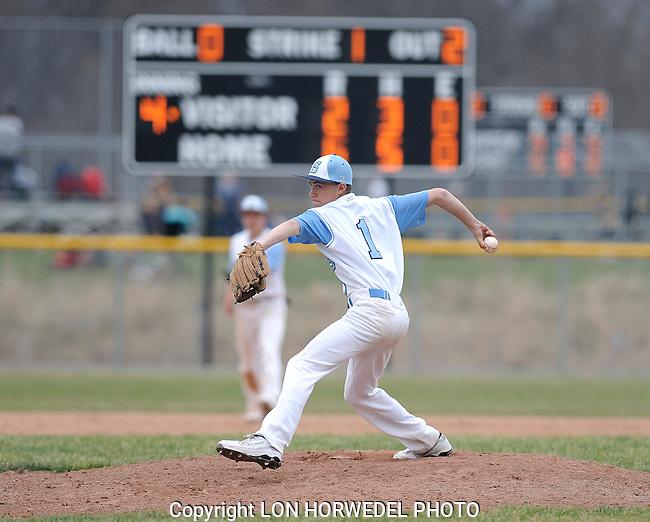 Skyline High School baseball vs. Chelsea High School, Monday, April 21, 2014 at Skyline.