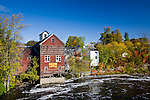 Grain mill along the Piscataquis River, Dover-Foxcroft, ME