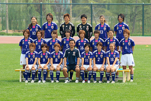 Women's Japan National Team Group (JPN), September 10, 2011 - Football / Soccer : Women's Asian Football Qualifiers Final Round for London Olympic, Japan National Team Training at Jinan Olympic Sports Center Training Ground, Jinan, China. (Photo by Daiju Kitamura/AFLO SPORT) [1045]