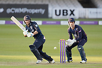 James Harris of Middlesex CCC pushes into the on side for a single during Middlesex vs Lancashire, Royal London One-Day Cup Cricket at Lord's Cricket Ground on 10th May 2019