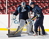Matt Morris (Maine - 36) - The University of Maine Black Bears practiced at Fenway on Friday, January 13, 2017, in Boston, Massachusetts.Matt Morris (Maine - 36) - The University of Maine Black Bears practiced at Fenway on Friday, January 13, 2017, in Boston, Massachusetts.