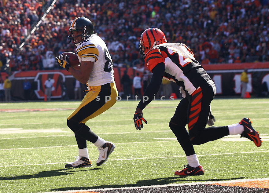 HINES WARD, of the Pittsburgh Steelers, in action during the Steelers games against the Cincinnati Bengals, in Cincinnati, Ohio on October 28, 2007.  ..The Steeler won the game 24-13...COPYRIGHT / SPORTPICS..........