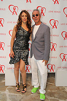 Dini von Mueffling and Ted Sann attend The Let's Misbehave Party to Benefit Love Heals on July 19, 2014 (Photo By Taylor Donohue/Guest Of A Guest)