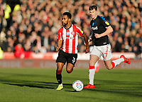 8th February 2020; Griffin Park, London, England; English Championship Football, Brentford FC versus Middlesbrough; Rico Henry of Brentford