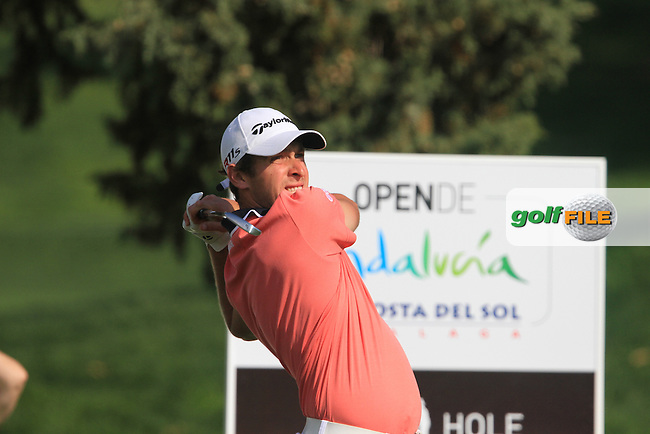 Lorenzo Gagli (ITA) on the 13th on Day 2 of the 2012 Open de Andalucia Costa del Sol at Aloha Golf Club, Marbella, Spain...(Photo Jenny Matthews/www.golffile.ie)