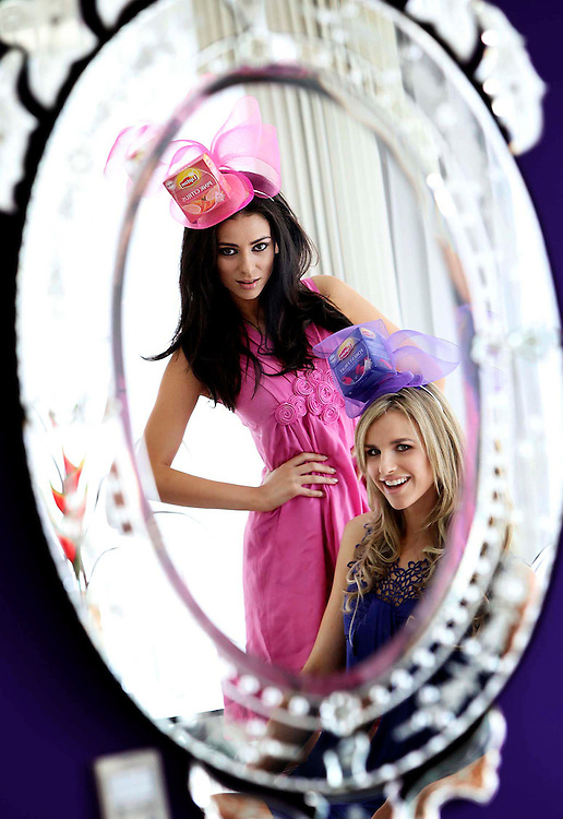 Models Georgia Salpa and Vogue Williams announce details of the Lipton Fruit and Herbal 'Drink Gorgeous Garden party' at this year's Taste of Dublin.