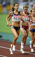 Kara Goucher finished 3rd. in the 10,000m run with a time of 32:02.05 at the 11th. IAAF World Championship being held in Osaka,Japan on Saturday, August 25, 2007.Photo by Errol Anderson,The Sporting Image.