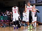 S&ouml;dert&auml;lje 2014-10-11 Basket Basketligan S&ouml;dert&auml;lje Kings - Ume&aring; BSKT :  <br /> Ume&aring;s Germaine Jordan , Alexander Holmstr&ouml;m och Albin Frank deppar<br /> (Foto: Kenta J&ouml;nsson) Nyckelord:  S&ouml;dert&auml;lje Kings SBBK Basket Basketligan T&auml;ljehallen Ume&aring; BSKT depp besviken besvikelse sorg ledsen deppig nedst&auml;md uppgiven sad disappointment disappointed dejected