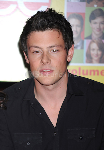 Cory Monteith at the Glee Season One cd release at Borders Columbus Circle in New York City. November 3, 2009.. Credit: Dennis Van Tine/MediaPunch