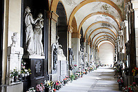Funerary monuments in Staglieno's cemetery, Genoa.<br /> UPDATE IMAGES PRESS/Riccardo De Luca