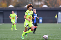 20191123 – BRUGGE, BELGIUM : Gent's Kassandra Missipo pictured during a women soccer game between Dames Club Brugge and K AA Gent Ladies on the ninth matchday of the Belgian Superleague season 2019-2020 , the Belgian women's football  top division , saturday 23 th November 2019 at the Jan Breydelstadium – terrain 4  in Brugge  , Belgium  .  PHOTO SPORTPIX.BE | DAVID CATRY