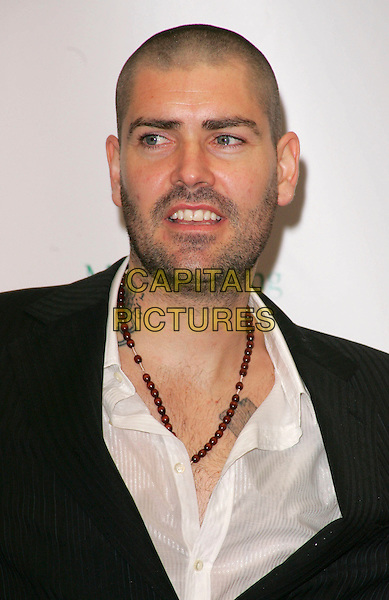 SHANE LYNCH.At the Emeralds and Ivy Ball in aid of Cancer Research UK..Old Billingsgate Market, London, England, .November 30th 2007..portrait headshot .CAP/ROS.©Steve Ross/Capital Pictures