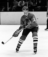 Chicago Blackhawk Keith Magnuson. (1971/photo)<br />
