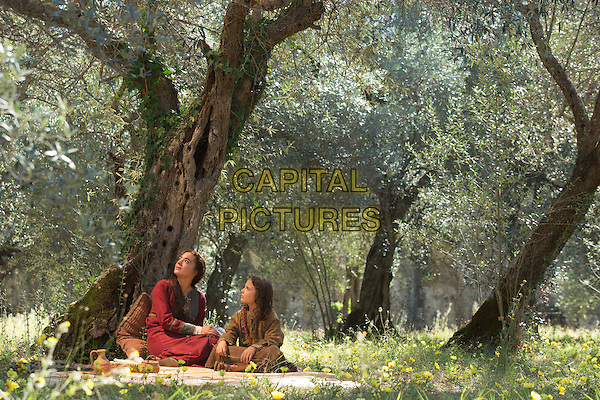 The Young Messiah (2016) <br /> Sara Lazzaro (left) stars as Mary and Adam Greaves-Neal (right) stars as Jesus <br /> *Filmstill - Editorial Use Only*<br /> CAP/FB<br /> Image supplied by Capital Pictures