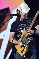 11 June 2017 - Nashville, Tennessee - Brad Paisley. 2017 CMA Music Festival Nightly Concert held at Nissan Stadium. Photo Credit: Dara-Michelle Farr/AdMedia