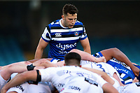 Max Green of Bath United looks on. Premiership Rugby Shield match, between Bath United and Gloucester United on April 8, 2019 at the Recreation Ground in Bath, England. Photo by: Patrick Khachfe / Onside Images
