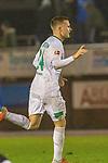 23.10.2018, Heinz Detmar Stadion, Lohne, GER FSP, 1.FBL, SV Werder Bremen (GER) vs Arminia Bielefeld, im Bild<br /> <br /> Johannes  Eggestein (Werder Bremen #24) Tor 1:1<br /> <br /> Foto &copy; nordphoto / Kokenge