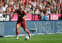 Fussball Bundesliga Saison 2011/2012 3. Spieltag FC Bayern Muenchen - Hamburger SV Arjen ROBBEN (FCB).