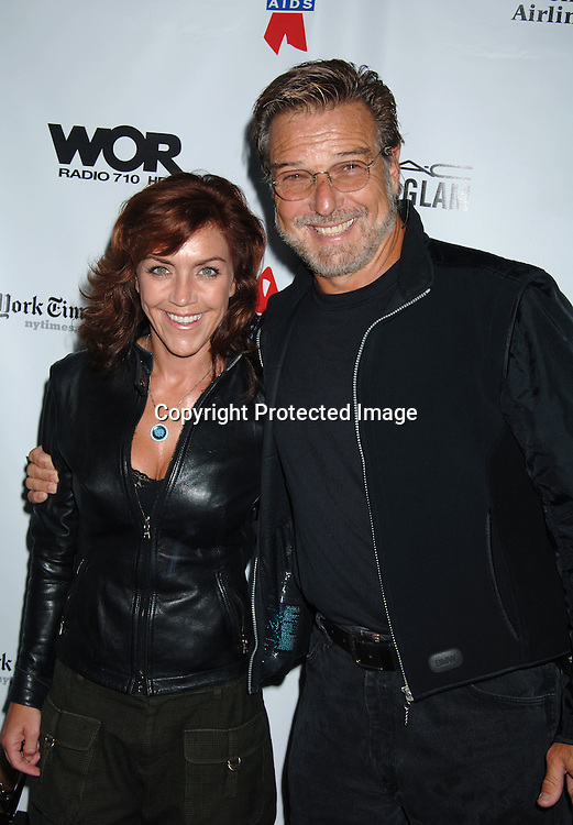 Andrea McArdle and husband Edd Kalehoff..at The 20th Annual Broadway Cares/Equity Fights Aids Broadway Flea Market, Celebrity Autograph Table and Grand Auction on September 24, 2006 at Shubert Alley...Robin Platzer, Twin Images