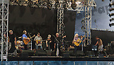 Crosby, Stills & Nash at the Tollwood Festival in Munich, Germany.