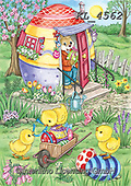 Interlitho-Dani, EASTER, OSTERN, PASCUA, paintings+++++,chicks, rabbit,KL4562,#e#, EVERYDAY