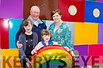 Ava, Richard, Fraya and Ann Marie Morrison at Kfest in Killorglin on Saturday
