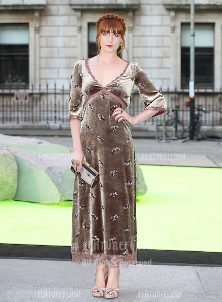 Florence Welch arriving for the Royal Academy Of Arts Summer Exhibition Party, RAA, London. 05/06/2013 Picture by: Alexandra Glen / Featureflash