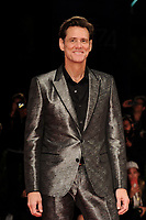 Canadian-American actor Jim Carrey poses on the red carpet for the 'Jim & Andy: The Great Beyond - The Story Of Jim Carrey & Andy Kaufman With A Very Special, Contractually Obligated Mention Of Tony Clifton' premiere during the 74th Venice Film Festival on September 5, 2017 in Venice, Italy.<br /> UPDATE IMAGES PRESS/Marilla Sicilia<br /> <br /> *** ONLY FRANCE AND GERMANY SALES ***