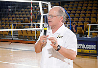 Florida International University retired women's volleyball player Yarimar  Rosa's number and President Rosenberg spoke after the game against Western Kentucky University.  Western Kentucky won the match 3-0 on September 30, 2011 at Miami, Florida. .
