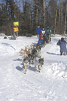 Kelley Griffin Anchorage Start Iditarod 2008.