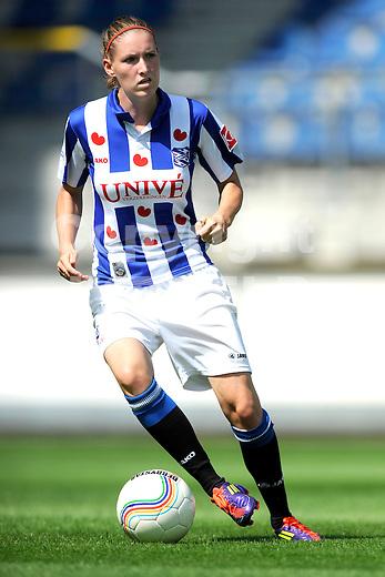 HEERENVEEN - Persdag Heerenveen Erdivisie vrouwen , seizoen 2011-2012, 07-07-2011 Cynthia Beekhuis