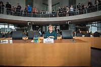 28. Sitzung des Abgas-Untersuchungsausschuss des Deutschen Bundestag am Mittwoch den 8. Maerz 2017.<br /> Als Zeugin war Bundeskanzlerin Angela Merkel (im Bild) geladen.<br /> 16.2.2017, Berlin<br /> Copyright: Christian-Ditsch.de<br /> [Inhaltsveraendernde Manipulation des Fotos nur nach ausdruecklicher Genehmigung des Fotografen. Vereinbarungen ueber Abtretung von Persoenlichkeitsrechten/Model Release der abgebildeten Person/Personen liegen nicht vor. NO MODEL RELEASE! Nur fuer Redaktionelle Zwecke. Don't publish without copyright Christian-Ditsch.de, Veroeffentlichung nur mit Fotografennennung, sowie gegen Honorar, MwSt. und Beleg. Konto: I N G - D i B a, IBAN DE58500105175400192269, BIC INGDDEFFXXX, Kontakt: post@christian-ditsch.de<br /> Bei der Bearbeitung der Dateiinformationen darf die Urheberkennzeichnung in den EXIF- und  IPTC-Daten nicht entfernt werden, diese sind in digitalen Medien nach §95c UrhG rechtlich geschuetzt. Der Urhebervermerk wird gemaess §13 UrhG verlangt.]