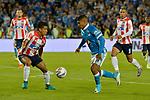 Junior venció como visitante 2-1 a Millonarios. Fecha 6 Liga Águila II-2017.
