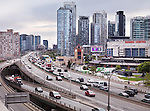 Toronto Downtown Gardiner Expressway, Gardiner Express Highway, Ontario, Canada 2013.