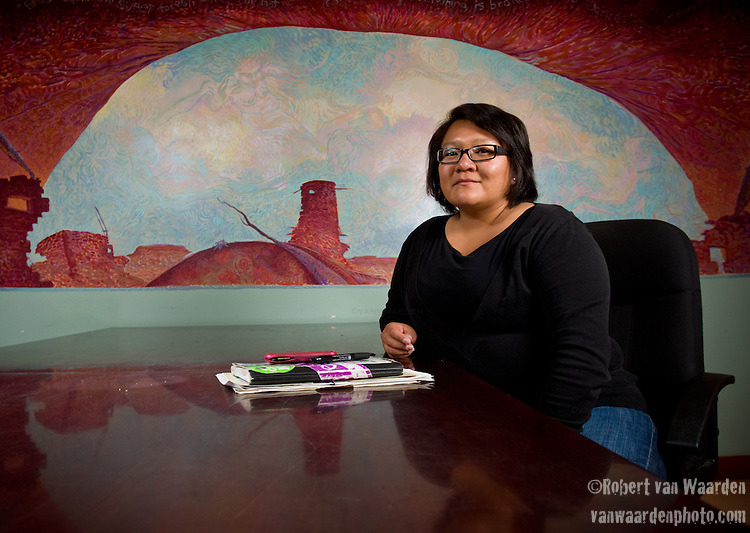 Nikke Alex is a member of the Navajo Nation (Diné Bikéyah) and former director of the Black Mesa Water Coalition. She grew up in Gallup, New Mexico. She helped organize the Navajo green jobs campaign that was responsible for the first green jobs legislation in American Indian country. She is currently a Communications Consultant for the Multicultural Alliance for a Safe Environment.
