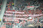 09.09.2017, wirsol-Rhein-Neckar-Arena, Sinsheim, GER, 1. FBL, TSG 1899 Hoffenheim vs FC Bayern Muenchen, im Bild Transparent / Protest der Bayern Fans gegen den DFB: Was uns an euch stoert: Regeln aufstellen und selbst darauf scheissen <br /> Korruption toetet den Sport<br /> <br /> Foto &copy; nordphoto / Fabisch