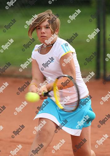2008-09-06 / Tennis / Feest van de Jeugd 2008 / Zarah Van Eenooghe..Foto: Maarten Straetemans (SMB)