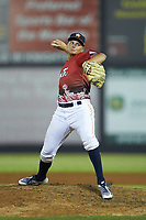 South Division pitcher Brandon Bielak (13) of the Buies Creek Astros in action during the 2018 Carolina League All-Star Classic at Five County Stadium on June 19, 2018 in Zebulon, North Carolina. The South All-Stars defeated the North All-Stars 7-6.  (Brian Westerholt/Four Seam Images)