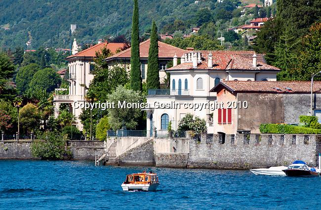 Tremezzo, a town on Lake Como, Italy
