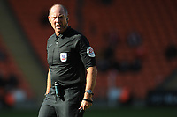 Referee Andy Haines<br /> <br /> Photographer Kevin Barnes/CameraSport<br /> <br /> The EFL Sky Bet League One - Blackpool v Swindon Town - Saturday 19th September 2020 - Bloomfield Road - Blackpool<br /> <br /> World Copyright © 2020 CameraSport. All rights reserved. 43 Linden Ave. Countesthorpe. Leicester. England. LE8 5PG - Tel: +44 (0) 116 277 4147 - admin@camerasport.com - www.camerasport.com