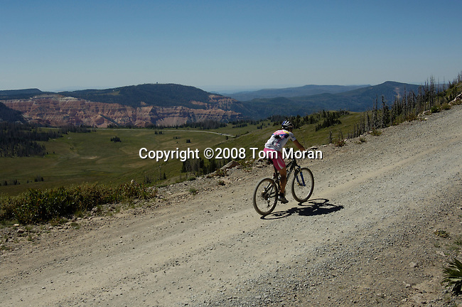 American Mountain Classic, Brian Head, Utah.Stage 2- The Peak.23 August 2008.Photo by Tom Moran.tom-moran@earthlink.net