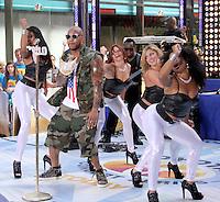July 06, 2012 Flo Rida perform at the Toyota Concert Series on the Today Show  in New York City.Credit:&copy; RW/MediaPunch Inc. /*NORTEPHOTO* <br /> **CREDITO*OBLIGATORIO** **No*Venta*A*Terceros** **No*Sale*So*third**<br />  ***No*Se*Permite*Hacer*Archivo** **No*Sale*So*third**