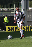Marc McAusland in the St Mirren v Hibernian Clydesdale Bank Scottish Premier League match played at St Mirren Park, Paisley on 18.8.12.