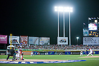 7 March 2009: #45 Carlos Lee of Panama faces pitcher #27 Nelson Figueroa of Puerto Rico during the 2009 World Baseball Classic Pool D match at Hiram Bithorn Stadium in San Juan, Puerto Rico. Puerto Rico wins 7-0 over Panama.