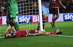 Daniel Ayala of Middlesbrough after missing a chance on goal - Sky Bet Championship - Middlesbrough vs Sheffield Wednesday - Riverside Stadium - Middlesbrough - England - 28th of December 2015 - Picture Jamie Tyerman/Sportimage