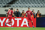 Shanghai FC Forward Oscar Emboaba Junior (R) celebrating his score during the AFC Champions League 2017 Group F match between Shanghai SIPG FC (CHN) vs Western Sydney Wanderers (AUS) at the Shanghai Stadium on 28 February 2017 in Shanghai, China. Photo by Marcio Rodrigo Machado / Power Sport Images
