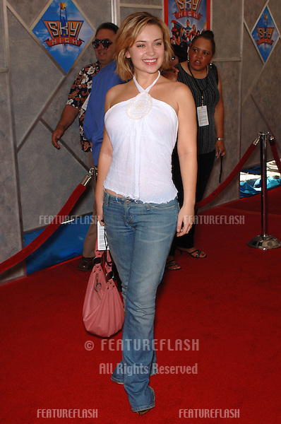 Actress MONICA KEENA at the world premiere of Sky High, at the El Capitan Theatre, Hollywood..July 24, 2005  Los Angeles, CA.© 2005 Paul Smith / Featureflash