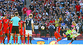 June 10th 2017, Hampden park, Glasgow, Scotland; World Cup 2018 Qualifying football, Scotland versus England; Leigh Griffiths scores a free kick to make it 1-1 in the 87th minute